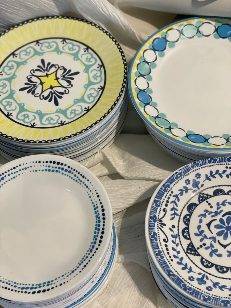 vintage dishes from The Vintage Dish