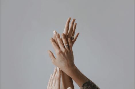 Different hands