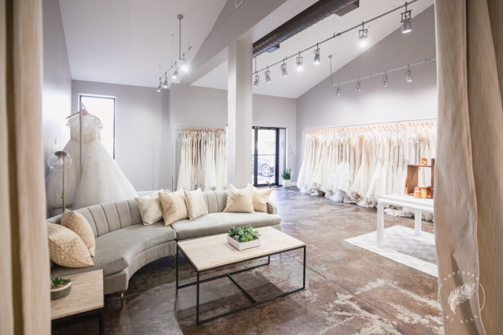 the bridal finery