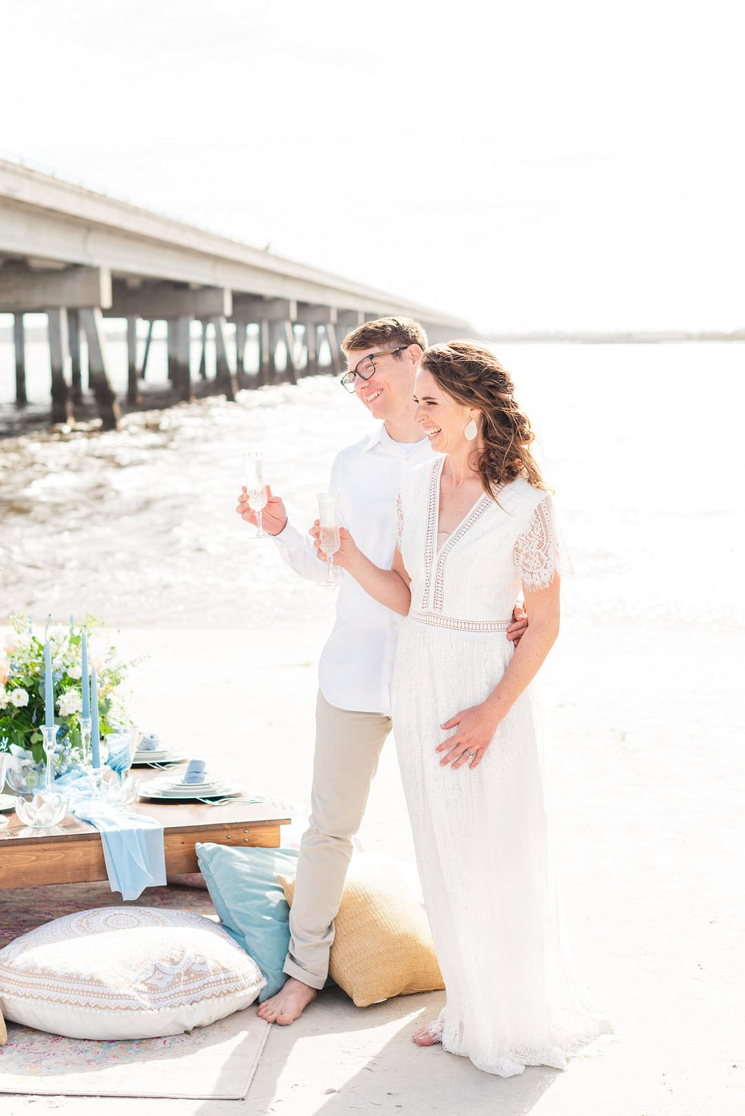 Romantic, Spring Styled Wedding with Horses on the Beach_Christine Austin Photography_©christineaustinphotography_2021_RomanticBeachStyledShoot_Austin+Naomi_59_low