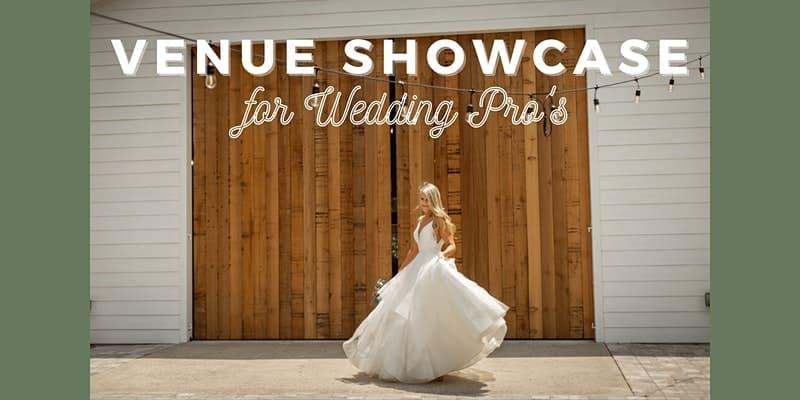 bride in front of wooden barn doors