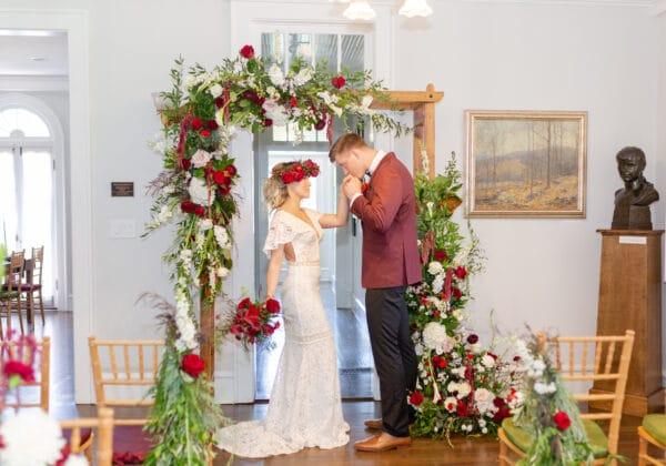 Christmas Themed Wedding Inspiration – Styled Shoot