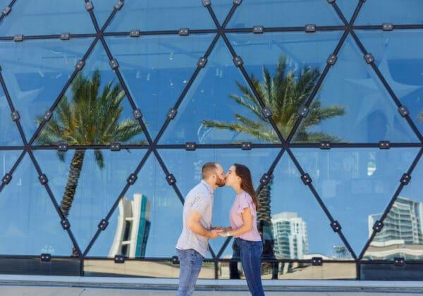 Salvador Dali Museum Marriage Proposal